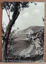 Finale Ligure - scorcio panoramico [grande, b/n, viaggiata]