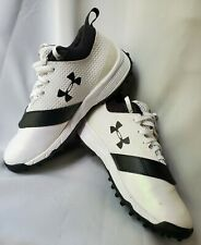 """Women""""s Under Armour Finisher Lacrosse Turf Shoes Pearl White Size 6"""