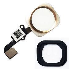 iPhone 6S Home Button Flex Kabel ID Sensor Touch Ersatz Menü Taste Gummi gold