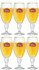 6 X Stella Artois Chalice Glasses (330 ml) Brand New