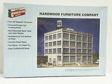 "Walthers/Cornerstone Ho U/A ""Hardwood Furniture Company"" Plastic Model Kit"