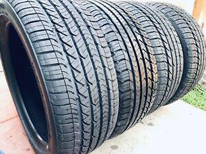 Set of 4 225/45/R18 Good Year Eagle Sport Tz summer tires