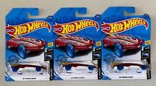 3 Count Red Hw Formula Solar Hot Wheels 2020 #16/250 X-Raycers 6/10, New