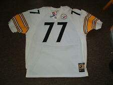 MARVEL SMITH #77 PITTSBURGH STEELERS AUTHENTIC REEBOK FOOTBALL  JERSEY sz 54 NWT