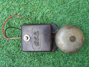 Bakelite Vintage GEC Electric Door Bell/Phone