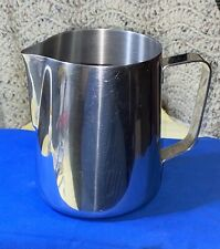 30 oz Milk Frothing Pitcher Stainless Steel Large Latte Coffee $5.99 No Reserve