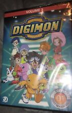 Digimon: Digital Monsters - The Offical First Season Vol. 3 (DVD, 2013, 3-Disc)