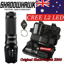 20000lm Genuine Shadowhawk X800 Tactical LED Flashlight CREE L2 Military Torch