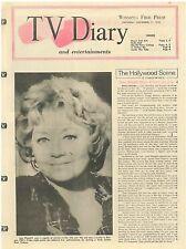 Banyon Joan Blondell Diana Ross Dracula November 11 1972 TV Diary Magazine LB1