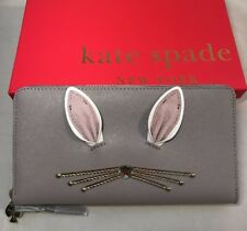 Kate Spade Nouvxneutr Rabbit Neda Women Purse Pink With Box 150