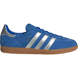 adidas Originals Torino City Series Mens Suede Trainers in Blue Silver