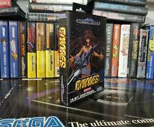 GAIARES Sega Megadrive pal Perfect custom game with box and manual pal