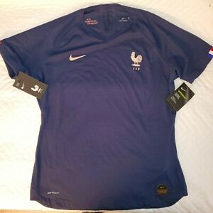 Nike Women's World Cup France 2019 Authentic Home Match Sz L Jersey AJ4328-410