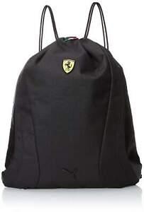 Puma Black Ferrari Replica Gym Sack Drawstring Bag [073172]