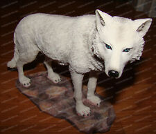 Artic White Wolf (Wildlife Collection, 12253) Wolf Spirit, Power Animal