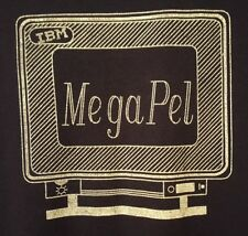 Vintage IBM Mega Pel PRE-OWNED Size Large 42-44 Blue T-Shirt