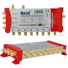 Multischalter  Matrix Best 5/8 Multiswitch bis zu 8 TV / Receiver  Full HD 3D 4K