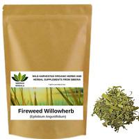 Fireweed Willowherb (Epilobium Angustifolium) Wild Harvested Organic Кипрей.