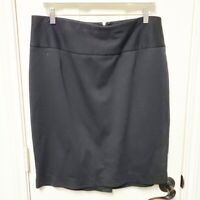 Lane Bryant Black Pencil Skirt Size 16