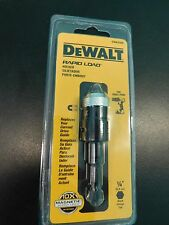 "1-DEWALT DWA2500 RAPID LOAD HOLDER 1/4"" SHANK 10X MAGNETIC SCREW LOCK SYSTEM NEW"
