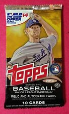 2014 Topps Baseball Series-2 HOBBY Pack (Rookie RC Auto/SP/Variations/1of1)?