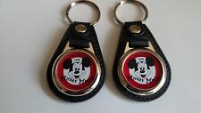 MICKEY MOUSE CLUB 2 PACK OF KEYCHAIN FOBS