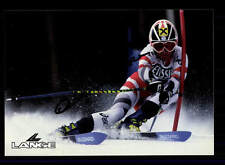 Anita Wachter AUTOGRAFO MAPPA ORIGINALE FIRMATO ski alpine + a 151845
