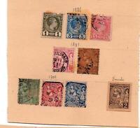 Premiers timbres de Monaco