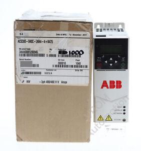 New ABB ACS380-040C-09A4-4  AC Drive 5HP 4kW 400/480VAC 3PH 8.9/7.6A