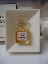 CHANEL No5 1.5ml Parfum Priceless Vintage 1970-80s Micro Miniature Near Mint Box