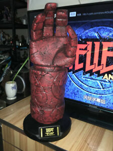 Hellboy 1/1 Life-Size Right Hand Of Doom Figure Statue Prop Model Replica Toy