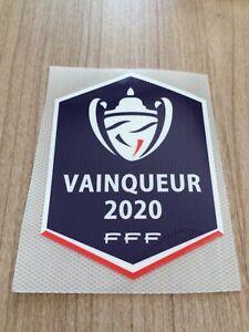 Patch badge vainqueur coupe de France 2020 FFF PSG vendeur pro