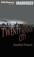 THE TWENTY-SEVENTH CITY unabridged audio on CD by JONATHAN FRANZEN - Brand New!