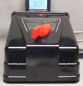 MARX #1859 TRANSFORMER 150 WATT W/CIRCUIT BREAKER-CLEANED-SERVICED-TESTED-EX++CD