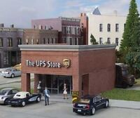 WALTHERS CORNERSTONE HO SCALE THE UPS STORE KIT 933-4112