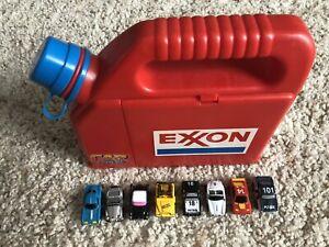 1988 Micromachines Exxon Gas Can Playset VINTAGE Nasta - RARE HTF