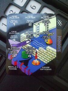 BRAND NEW ZAXXON 1OVERLAYS FOR COLECOVISION GAME CUSTOM HOMEBREW