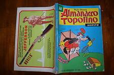 WALT DISNEY ALMANACCO DI TOPOLINO ALBI D'ORO N°176 AGOSTO 1971