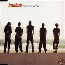 Incubus Nice to Know you w/ 3 RARE LIVE TRX OZ CD Single SEALED USA SELLER