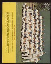 1973 Los Angeles Dodgers Team Photo