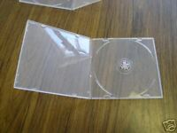 400  5.2MM SLIM SUPER CLEAR SINGLE POLY CD CASES   SF14