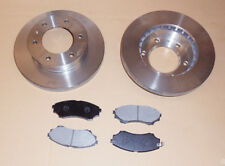 Front Brake Discs + Pad Set Ford Ranger / Mazda Pick Up 2.5TD / 2.5D (2002-2006)