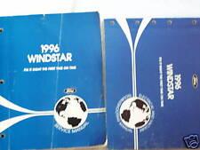1996 Ford Windstar Service Manual and EVTM Set