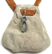 Zodiac essence medicine bag - Taurus (cream/beige suede)