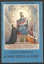 Librito antigua Virgen del Rosario andachtsbild santino holy card santini