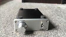 SMSL AMP-03 TA2020  Tripath TA2020 Cute Class T Mini Amplifier 20WX2 silver