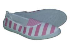 Scarpe da ginnastica rosa in tela con da infilare per donna