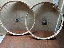 "New ListingVintage prewar 1940's 26"" drop center bicycle rims wheels Schwinn Monark Colson"