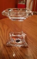 Bohemia Crystal Czech Pillar CANDLE HOLDER 24% Lead