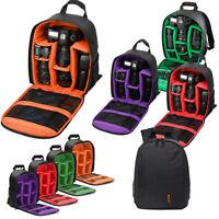 Camera Bag Backpack Waterproof Shockproof For Canon EOS Sony Nikon DSLR Digital